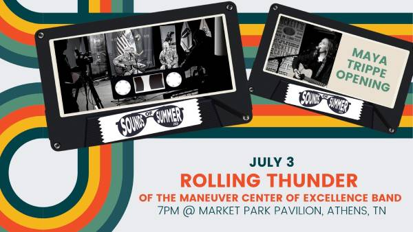 Sounds of Summer Music Festival - Rolling Thunder and Maya Trippe